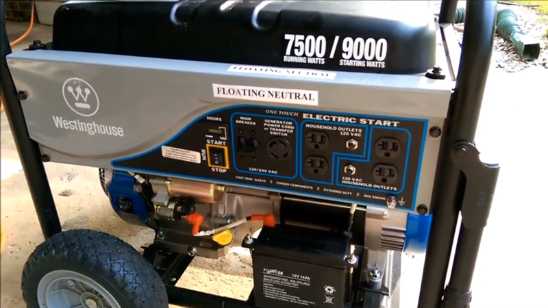 Westinghouse WH7500E Review | (Updated December 2019)