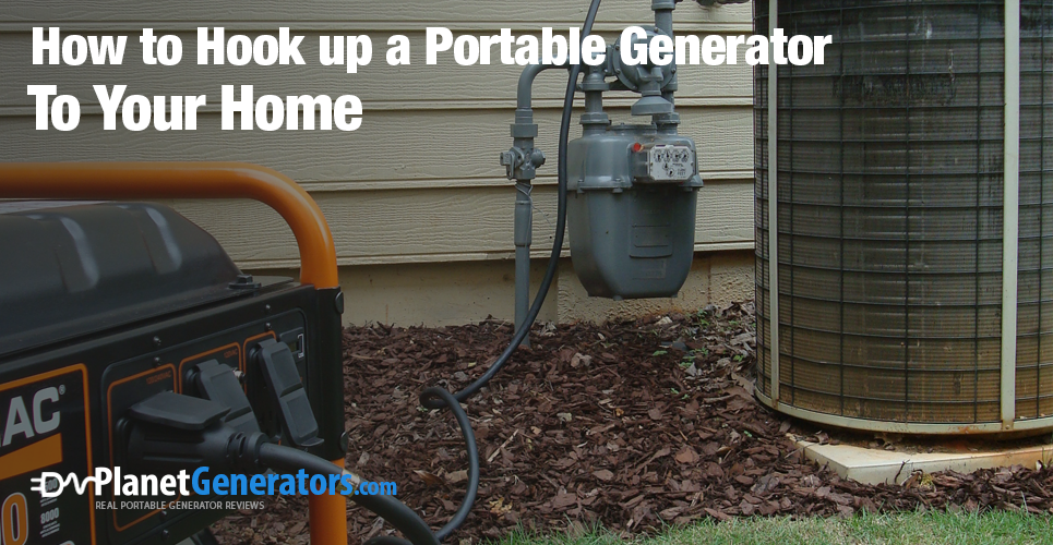 Connecting your generator to your home