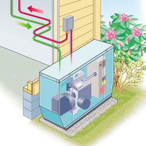 whole house generator system